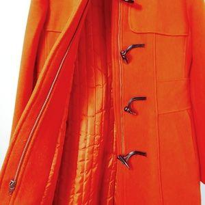 Banana Republic Orange Trench Coat